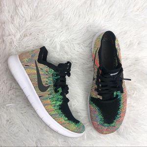 Women's Nike Free Flyknit Rn Multicolor